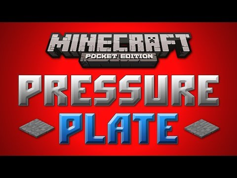 Pressure Plate Concept Minecraft Pocket Edition