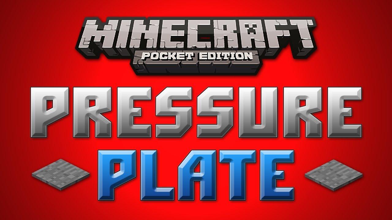 minecraft how to make a cobblestone pressure plate