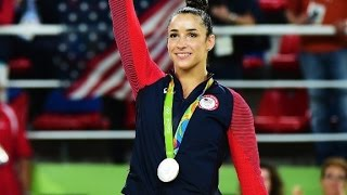 Aly Raisman gets asked out by NFL player
