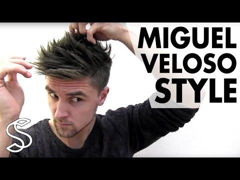 Miguel Veloso Hairstyle | Men's Football Player Hair Tutorial | Slikhaar TV