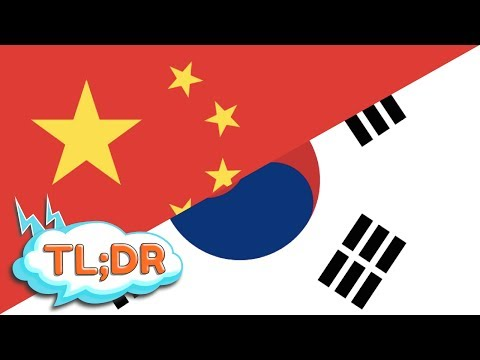 Tl;dr - China Vs Korea video