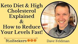 Dave Feldman: Biohacking High Cholesterol Levels on Keto Diet
