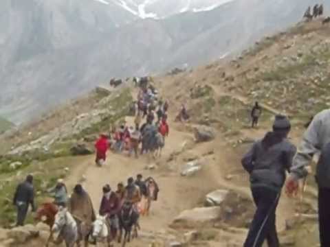 On The Way To Panjtarni 2 , Baba Amarnath Yatra video