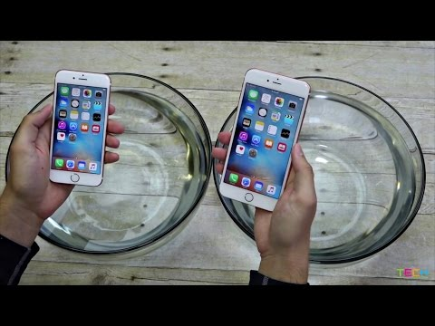 Apple iPhone 6s vs iPhone 6s Plus Water Test! Is it secretly waterproof? A waterproof review.