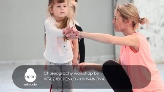 Сhoreography workshop by Vita Zubchenko Khusainova - Open Art Studio