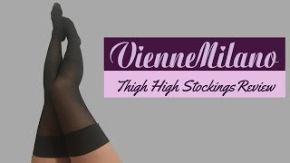 VienneMilano │Thigh High Stockings Review