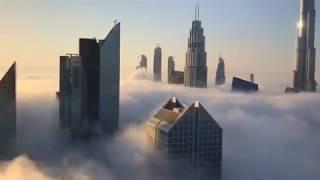 Typical Foggy Morning in Dubai, September 2017