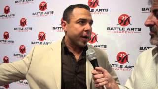 Anthony Carelli on Battle Arts Academy Grand Opening