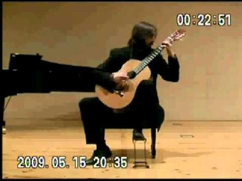 invierno porteño, arr. S.Assad, Pablo Rodríguez guitar