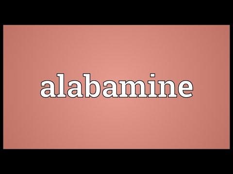 Header of alabamine