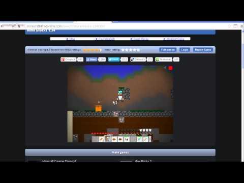 Mine blocks o jogo mais pareçido com minecraft em 2D