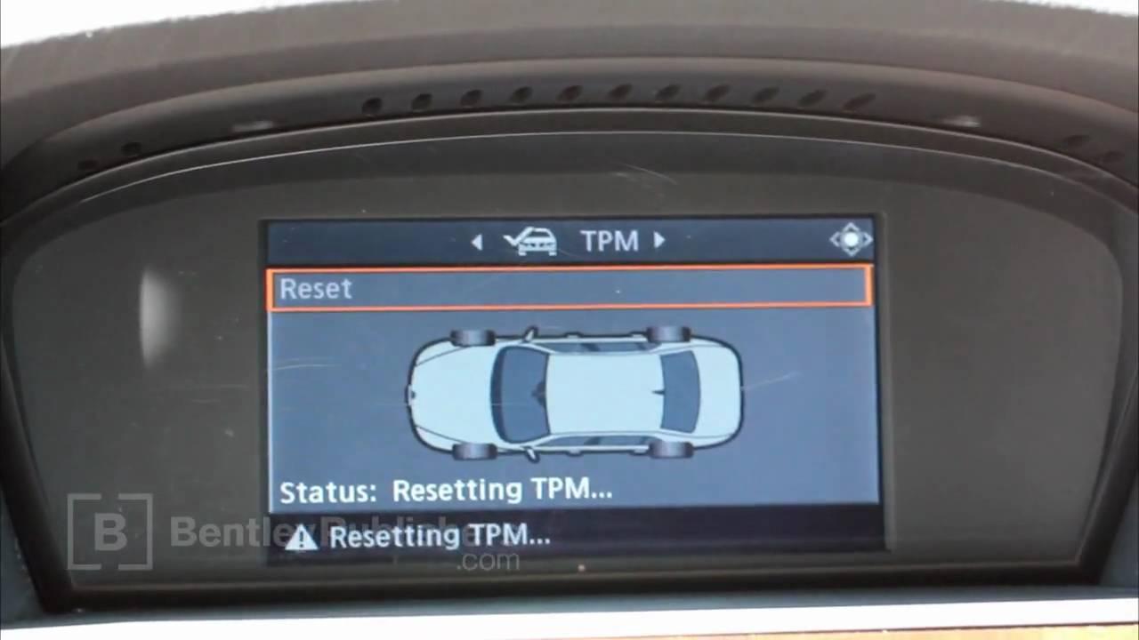 Bmw 5 Series E60 E61 2004 2010 Tire Pressure Monitor
