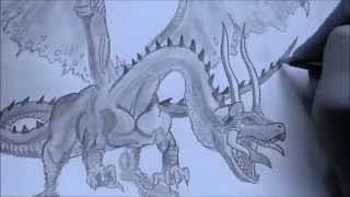Drawing Dragon Valor