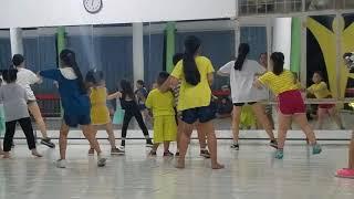 Bé múa hiện đại - Aerobic - Động tác khó khi tập nhảy múa thể dục nhịp điệu