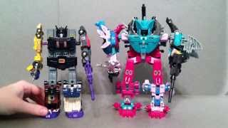 Piranacon / Seacons G1 Transformers Review