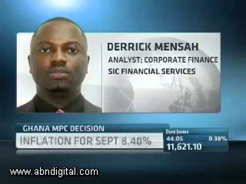 19 October - Ghana Market Watch with Derrick Mensah