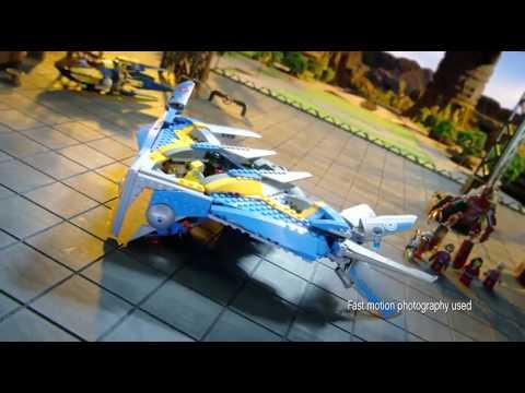 Lego Super Heroes 76021 Лего Супер Герои Спасение космического корабля Милано