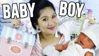 NEWBORN ESSENTIALS + Baby Boy Haul   Kris Lumagui