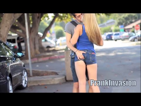 Kissing Prank - Staring Contest ( Kissing Hot Sexy Girls ) video