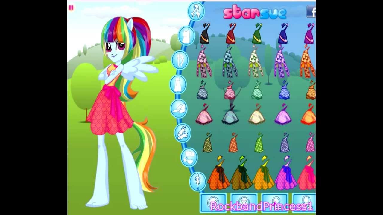 my little pony equestria girls rainbowdash game full