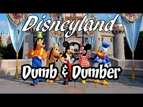 Disneyland with Dumb and Dumber
