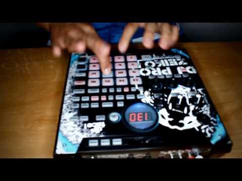 """DJ PRO-ZEIKO /  """"MOVE SEXY BITCH""""  Routine / Roland SP-555 Sampler (Jaylab Films)"""