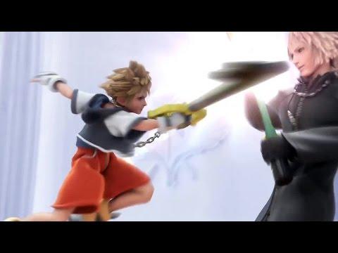 KINGDOM HEARTS HD 2.5 ReMIX - Les Personnages de Final Fantasy