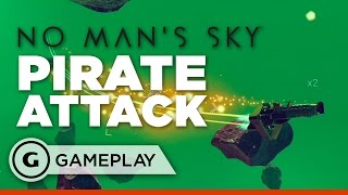 No Man's Sky - Space Pirate Attack Gameplay