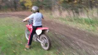 RETARDS first time on dirt bike