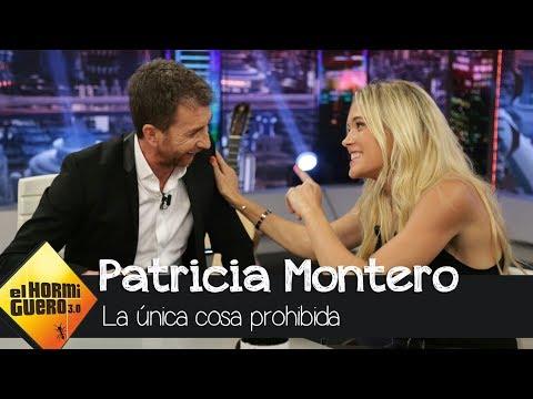 """Descubre """"la única cosa prohibida"""" que tiene Patricia Montero - El Hormiguero 3.0"""