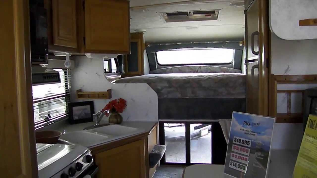 2002 Lance 1130 Truck Camper Youtube