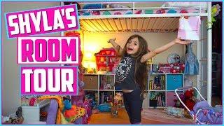 ROOM TOUR - KIDS ROOM TOUR - TOY ROOM - Shyla's Room Tour!