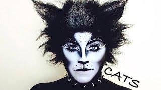 CATS BROADWAY MUSICAL MAKEUP TUTORIAL - NYX FACE AWARDS 2014 CHALLENGE 4