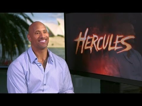 HERCULES - Dwayne Johnson Interview