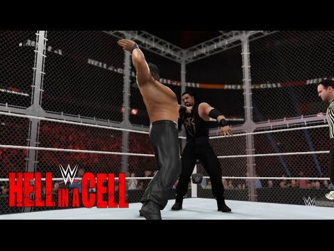 WWE-2K16-Roman Reigns vs Great Khali Hell In A Cell Match| WWE World Heavyweight ChampionShip 2016 thumbnail