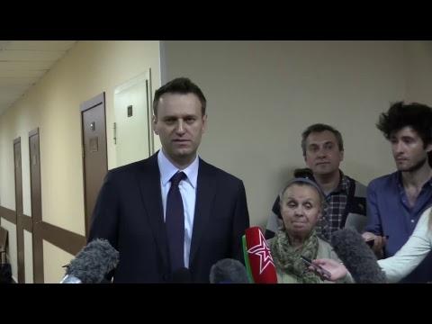 Комментарий Алексея Навального о суде с Алишером Усмановым и цензуре