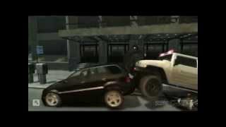 GTA IV - Трюки и Аварии