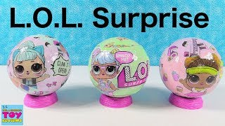 LOL Surprise Doll Opening Series 2 Wave 1 2 Toy Review | PSToyReviews
