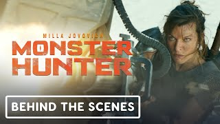 Monster Hunter (2020) - Official Behind the Scenes With Artemis (Milla Jovovich)