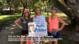 Broward County Judicial Candidate Phyllis Pritcher