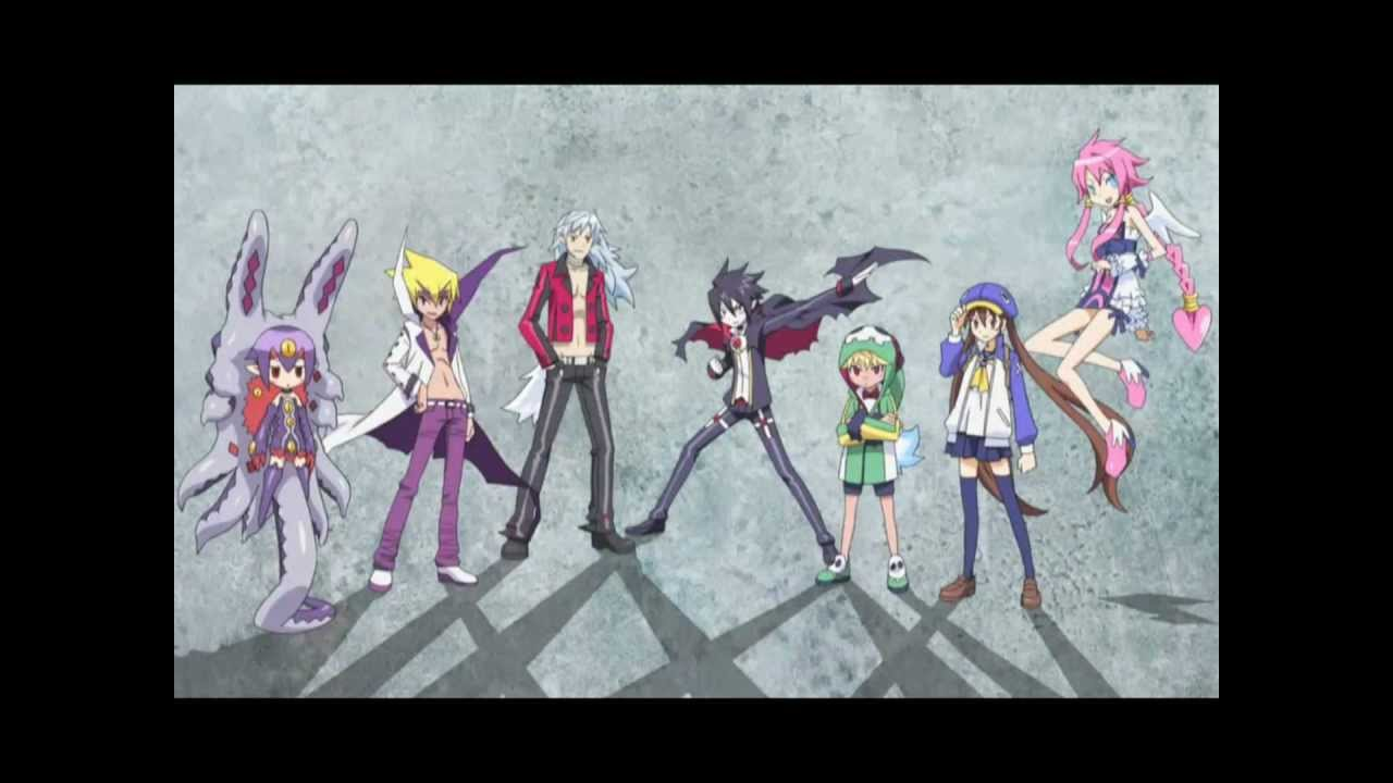 Disgaea characters