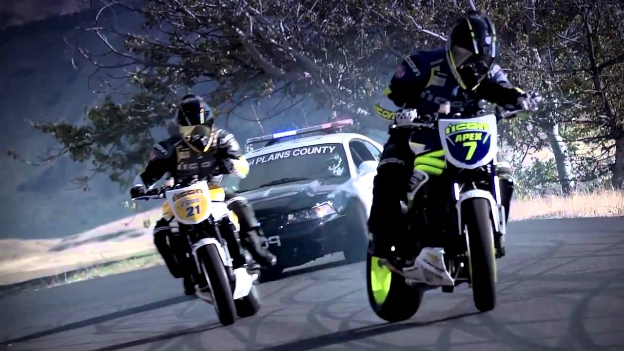 Bikes Running From Cops COP CAR VS MOTORCYCLE
