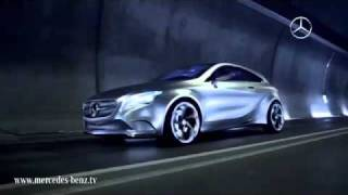 Тизер Mercedes-Benz Concept A-CLASS www.yourtrack.ru