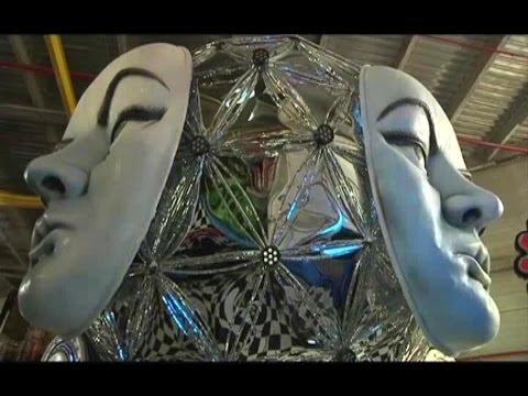 BRAZIL CARNIVAL GRANDE RIO PREPS (Grande Rio samba school puts final touches on floats and costumes)