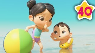 Learn To Swim Song | How To Nursery Rhymes | Fun Learning with LittleBabyBum