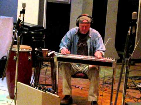 Rusty Young of POCO - Pedal Steel in Nashville Studio