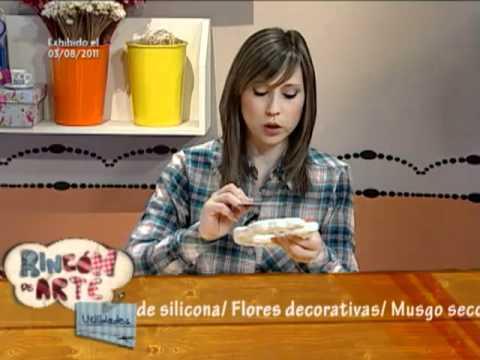 Aprenda a hacer un lindo y delicado cuadro de yeso para - Como poner molduras de escayola ...