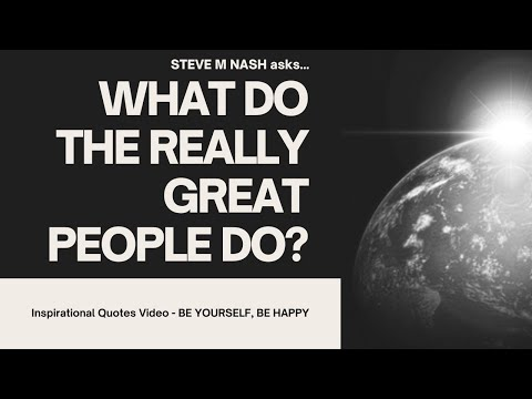 Inspirational Quotes - Be Yourself, Be Happy