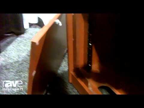 InfoComm 2014: Miller's Millworks Talks About CR Series Furniture