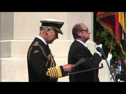 D-Day 70th anniversary commemorations at Bayeux Cemetery